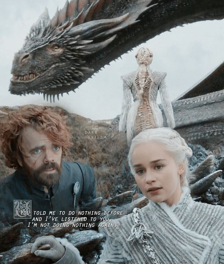 "Daenerys and Tyrion Lannister - Season 7, Episode 6 ""Beyond the Wall"""