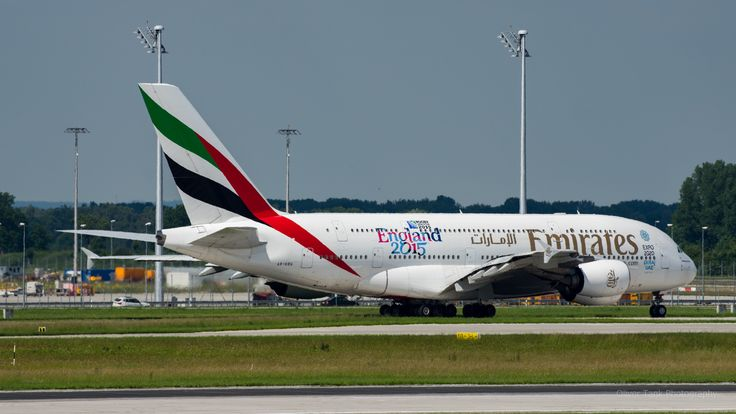 A6-EDG AirBus380-800 Emirates by Oliver Tank Photography on 500px