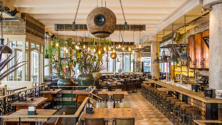 Bar & Restaurant | Bar & Restaurant Milú, Den Haag. Lekker tapas eten. Oktober 2016