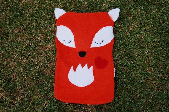 Hot Water Bottle Cover - Fox