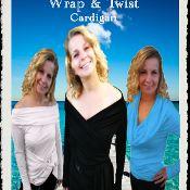 Wrap & Twist Cardigan - via @Craftsy