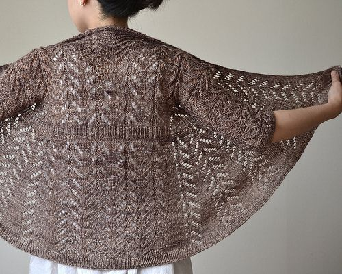 Hitofude by Hiroko Fukatsu. Wouldn't it be lovely in Red Barn Yarn Sock?