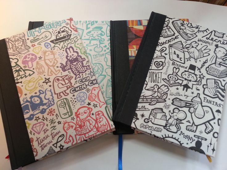 Cuadernos con papeles especiales www.scraplife.com.ar