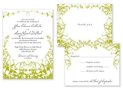 ivy paper/invites