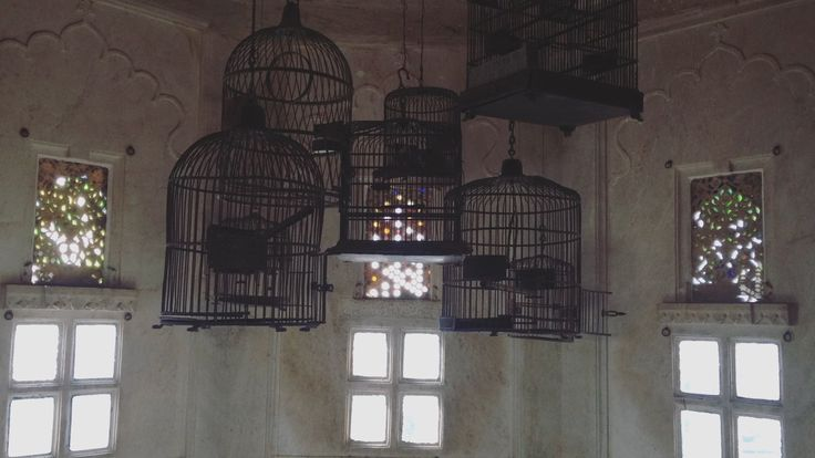 The pigeon cages of the Kings.