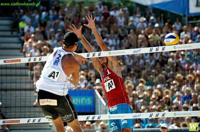 Siatkówka plażowa : Prudel może zagrać z Kądziołą.