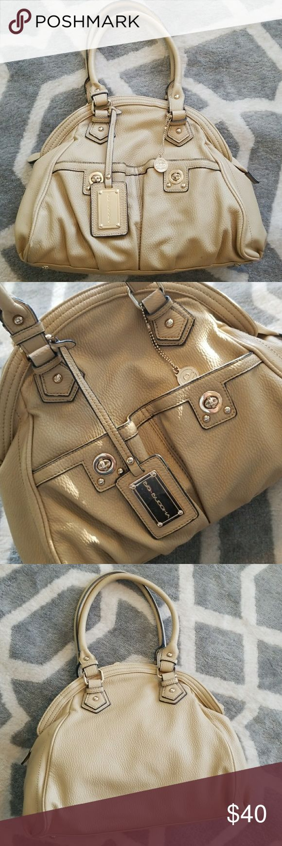 """Big Buddha bag Beautiful bag by Big Buddha in great condition!! Approx 14"""" long and 12"""" tall- can be carried on shoulder or as a crossbody! Minor signs of wear as shown in last two photos.  Bundle for a discount!! Always fast shipping!! Big Buddha Bags"""