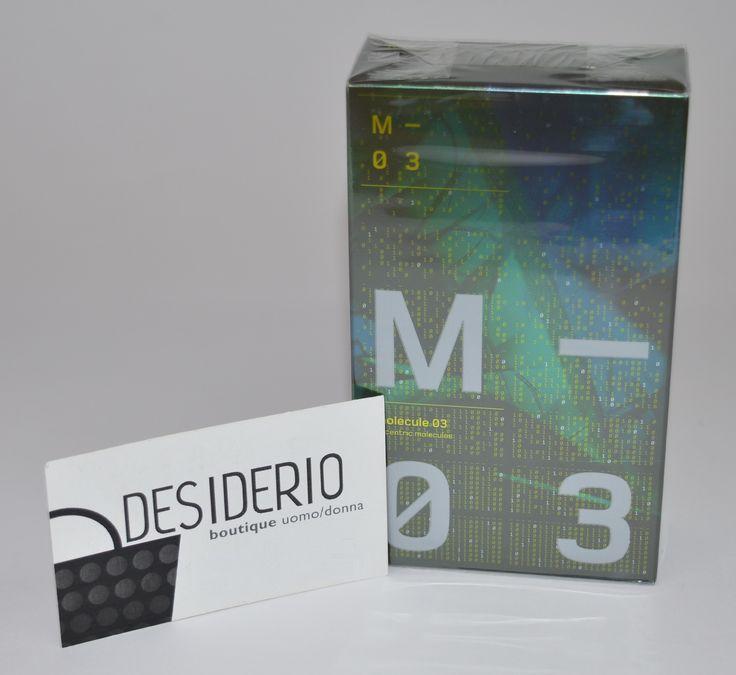 DESIDERIO boutique Canosa di Puglia - Escentric Molecules Molecule 03 http://www.ebay.it/itm/331686099958