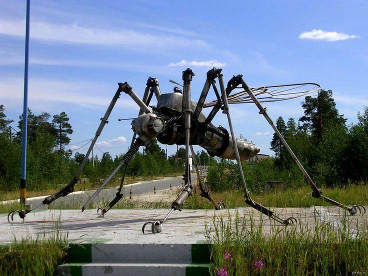 Памятник комару (г.Ноябрьск)
