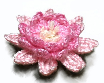 ...Lotus blossom ~ free pattern