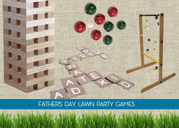 Fatheru0027s Day Party Blueprint: A Complete Guide To Hosting A Backyard Bash