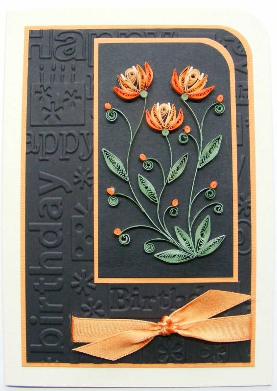 Birthday Card - Quilled Creations
