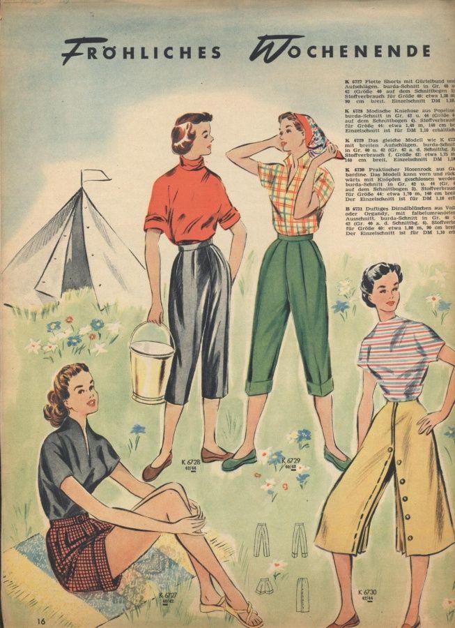 женские брючные костюмы в 50-е годы - Поиск в Google