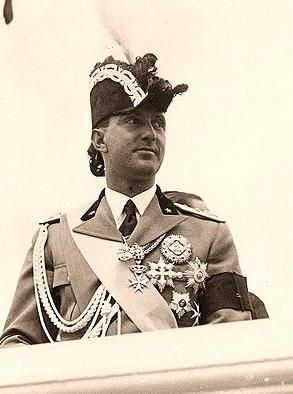 "The last king of Italy - Umberto II reigning for only 33 days and he was known as the ""May King"". He married Princess Maria Jose of Belgium. King Vittorio Emanuele III abdicated in favor of Umberto II in an effort to save the Italian kingdom after WW II but a referendum removed Umberto II though the vote was highly controversial, very close. Umberto II lived the rest of his life in exile, he never set foot in his native land again. He died in 1983 in Switzerland."