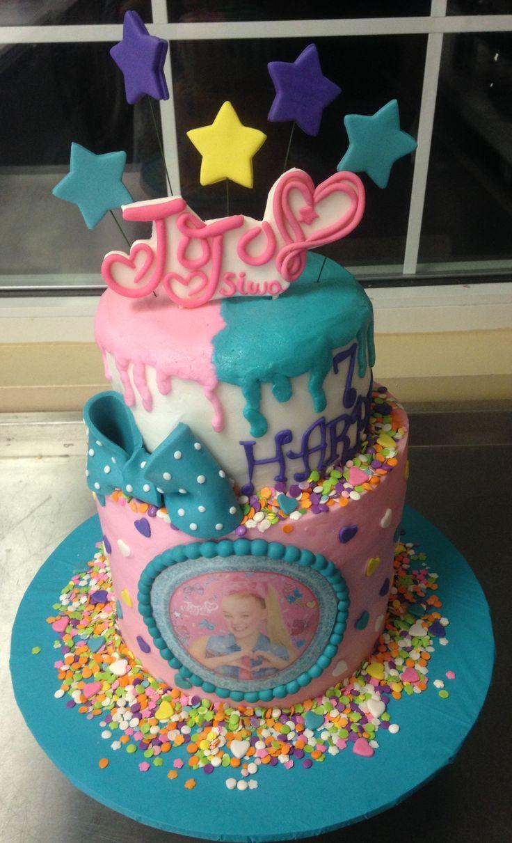 Jojo siwa cake Birthday cake girls, Jojo siwa birthday
