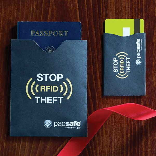 Safeguard your personal information from potential identity thieves with our RFID-Blocking Sleeves.