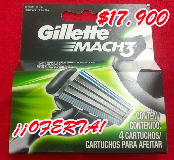 Maquina de Afeitar Gillette