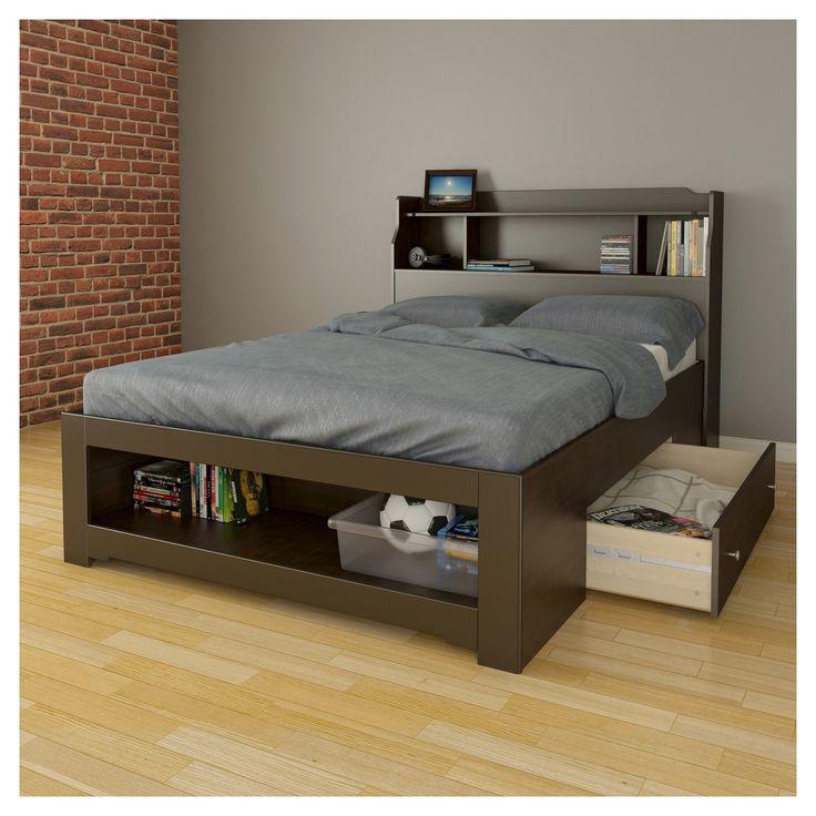 Dixon Complete Bed Espresso (Full) - Nexera