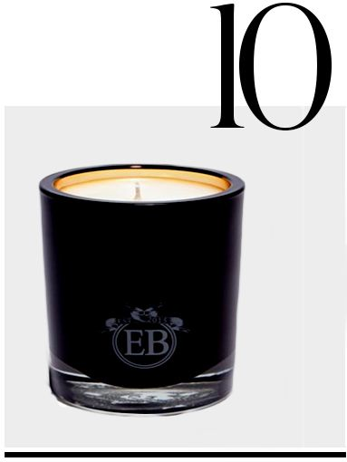 EB FLORALS ROSE AND WOOD CANDLE TOP TEN