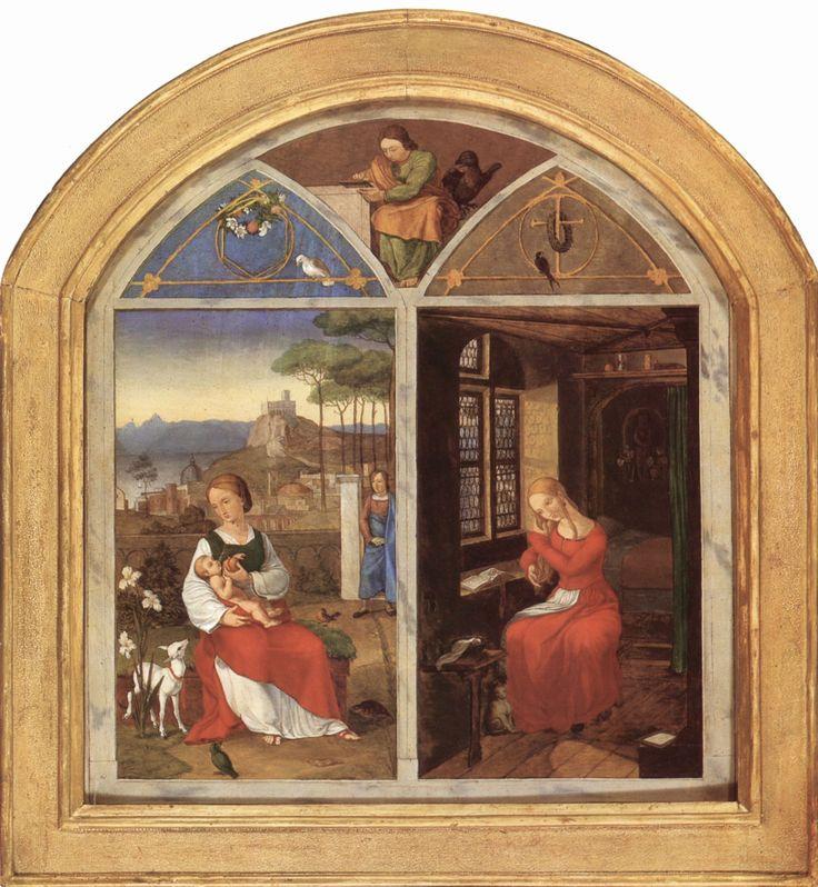 Franz Pforr, Sulamith und Maria