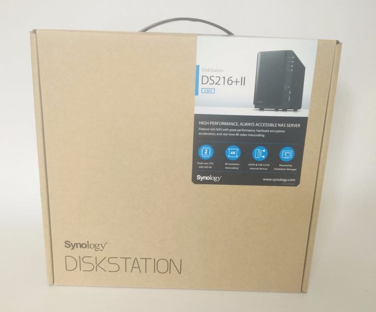 Review: Synology DS216 II