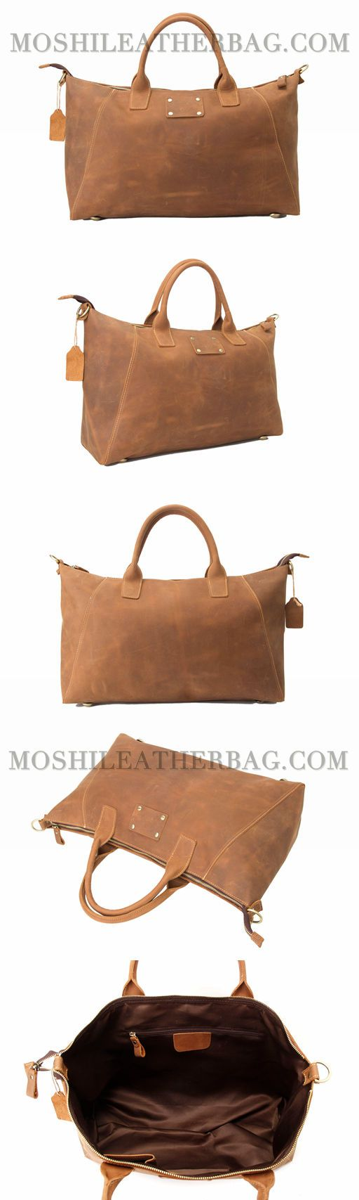 Handmade Genuine Leather Briefcase, Tote Bag, Messenger Shoulder Bag ZB03