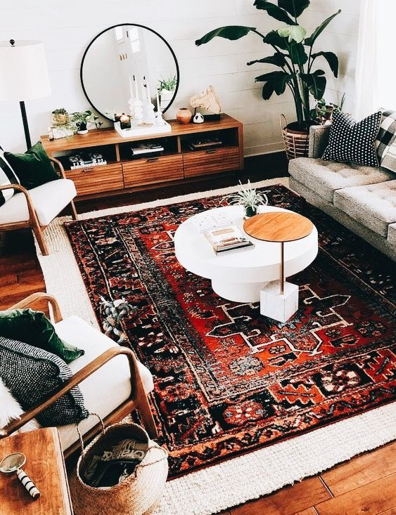 LOVE Layered rugs