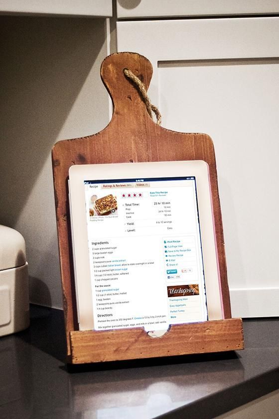 Best 25+ Cookbook holder ideas on Pinterest | Build recipe ...