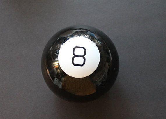 Vintage Boule Magique 8 Noir / Jeux & Jouets par LeVintageEnfolie