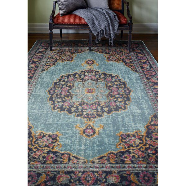 You'll love the Roddin Teal Area Rug at Joss & Main - With Great Deals on all products and Free Shipping on most stuff, even the big stuff.