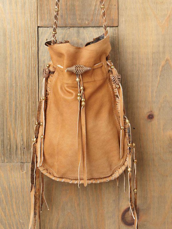 Lakota Bead Bag   Boho style