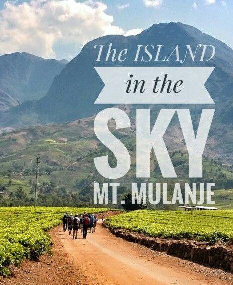 Mt. MULANJE, Malawi
