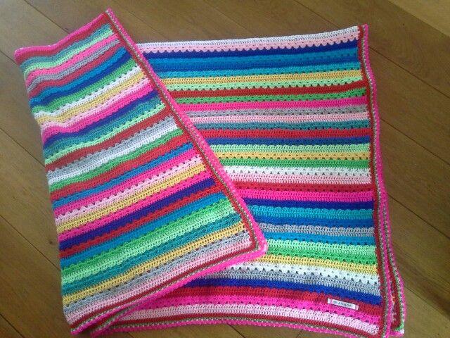 Cosy Stripe deken (attic24) * vrolijk!