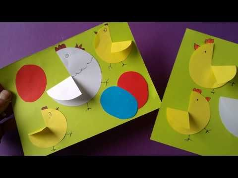 Easy to make easter card | krokotak