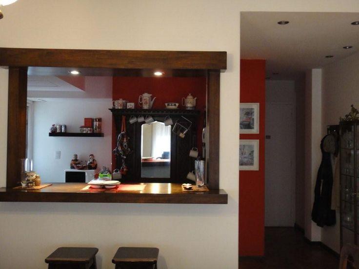 M s de 25 ideas incre bles sobre barras de cocina en for Sala comedor kitchenette