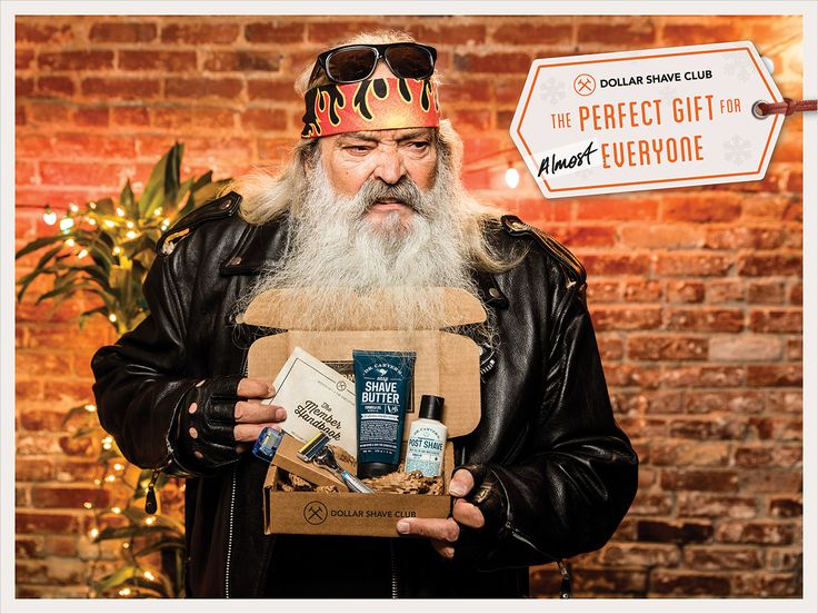 Dollar Shave Club's Holiday Ads Show the Few People Who Wouldn't Want a…