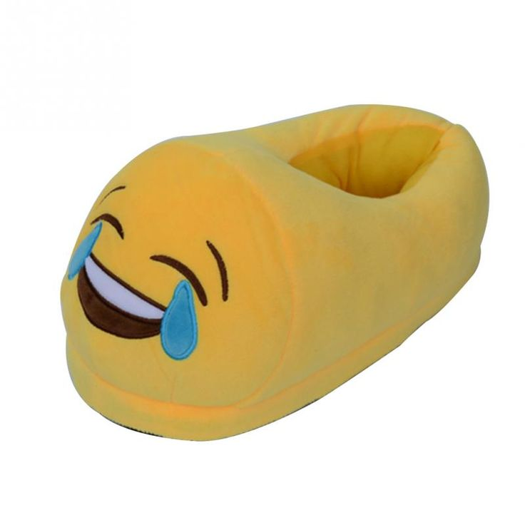 >> Click to Buy << 2017 Women Emoji Soft Cute Cartoon Slippers Winter Warm Plush Home Slippers Yellow Indoor Floor Shoes Home Slippers For Girls #Affiliate