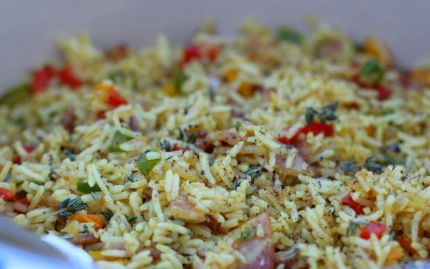 7-Colour Rice Recipe by Siba Mtongana