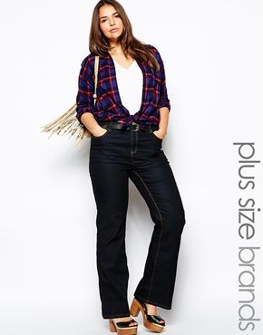 Image 1 of New Look Inspire Bootcut Jean