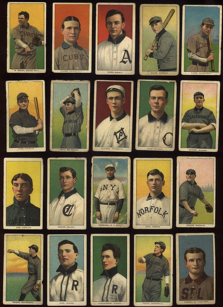 Hindu tobacco baseball cards.