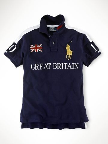 Ralph Lauren Ltd Ed UK Polo Shirt