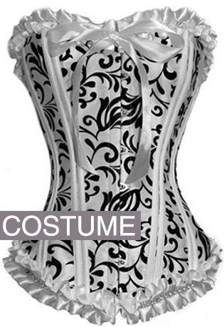 Check out this item on The Violet Vixen Aquamarine & Black Babydoll Gothic Corset #thevioletvixen