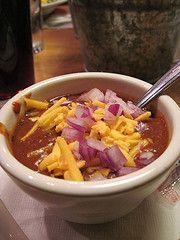 Copycat recipe - Texas Roadhouse Chili  #copycat