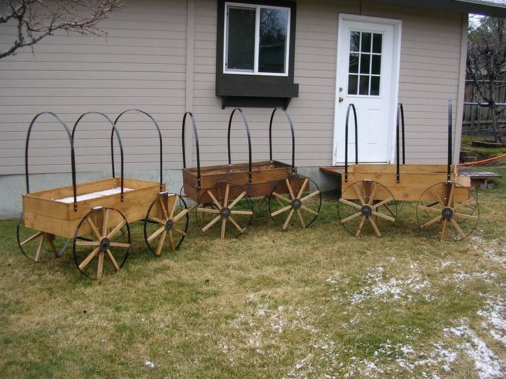 Wagon Planters. Garden WagonGarden CartWagon ...