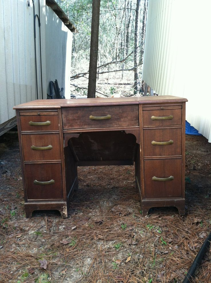 Typewriter Desk To Nightstands Before Furniture
