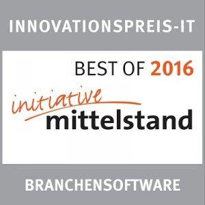 Auszeichnung InnovationsPreis -IT für HeadsetManager Online  Verwaltung von ProCom-Bestmann