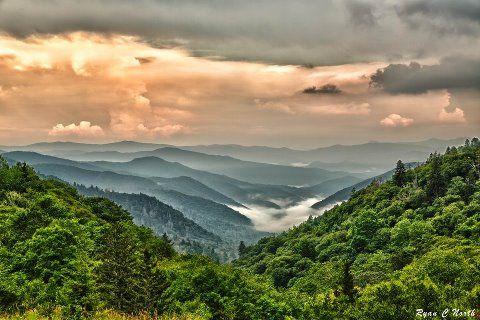 Gatlinburg, TN  beautiful Smoky mountains