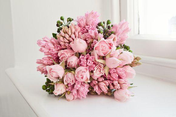 #Pastel pink wedding ... wedding bouquet... Wedding ideas for brides, grooms, parents & planners ... https://itunes.apple.com/us/app/the-gold-wedding-planner/id498112599?ls=1=8 …