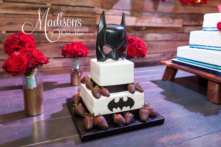 Jake's Batman Groom's Cake!