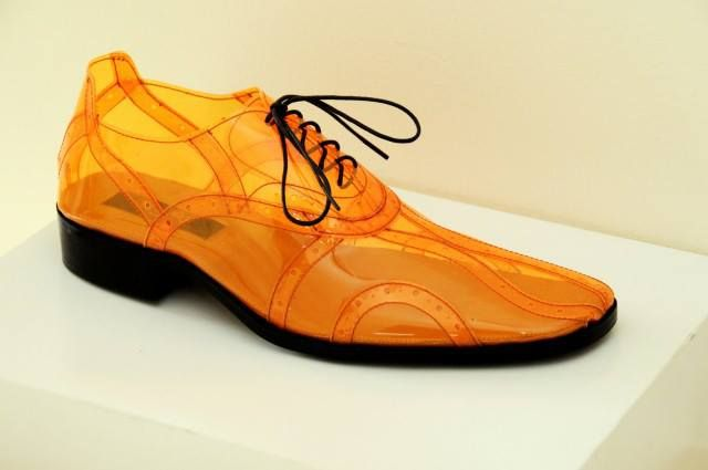 Acetate shoes from Brian Tenorio